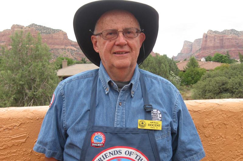 Docent Jeff Dunn
