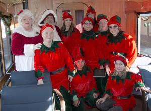 Santa and Crew