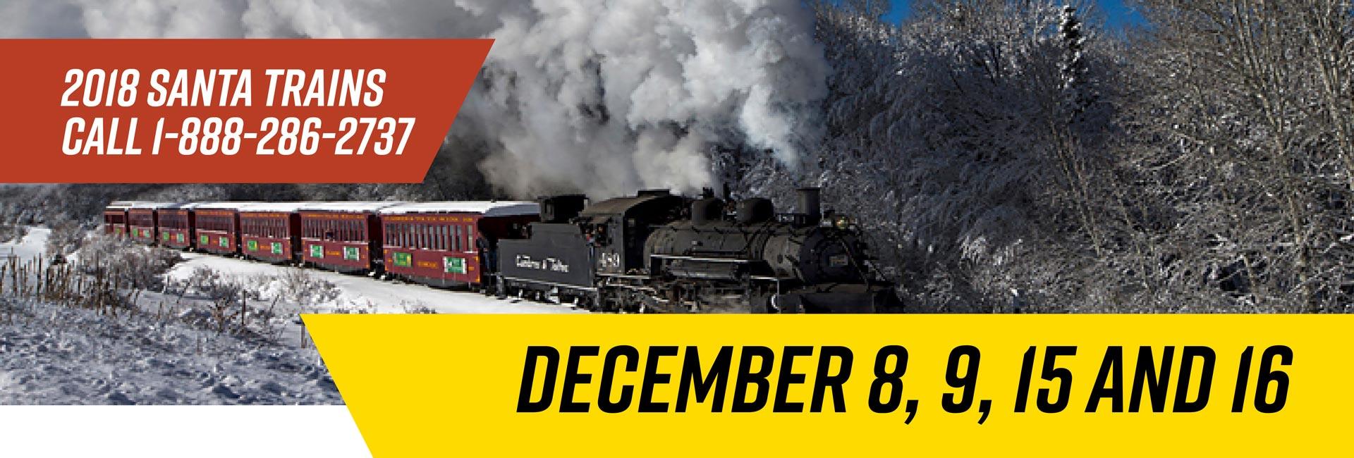 2018 Santa Train Slider