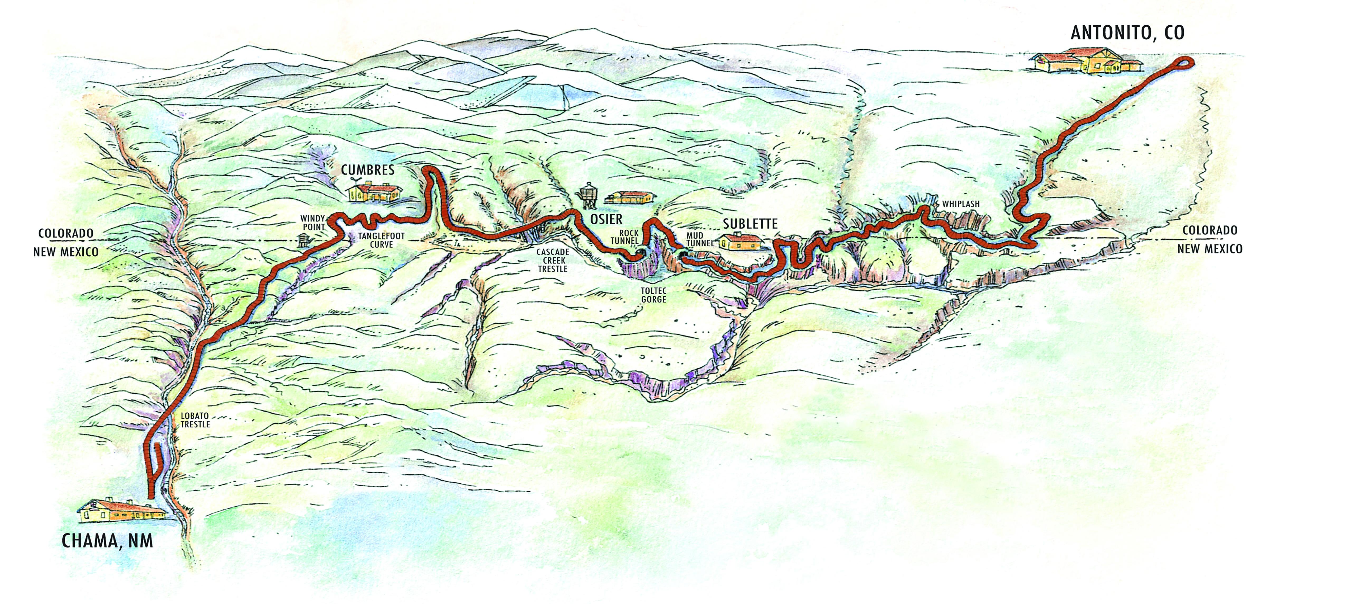 Cumbres Toltec Scenic Railroad 64 Miles Of Rocky Mountain Splendor