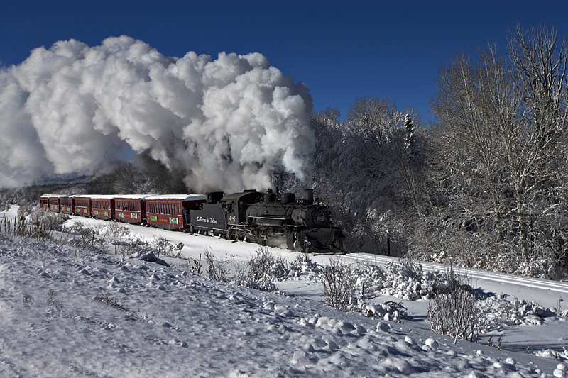 Christmas Train 2016 by Roger Hogan
