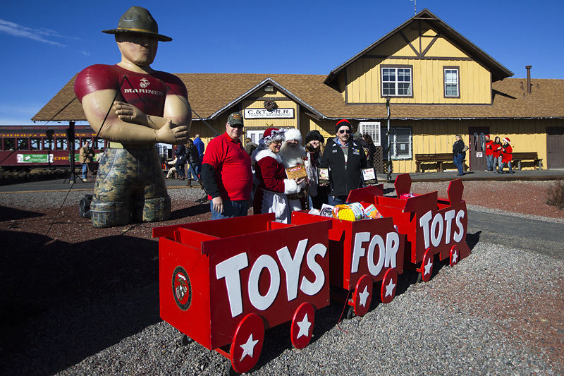 Santa Toys For Tots : What s new with cumbres toltec scenic railroad